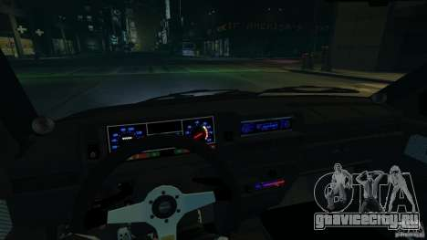 ВАЗ 2109 light tuning для GTA 4 вид изнутри