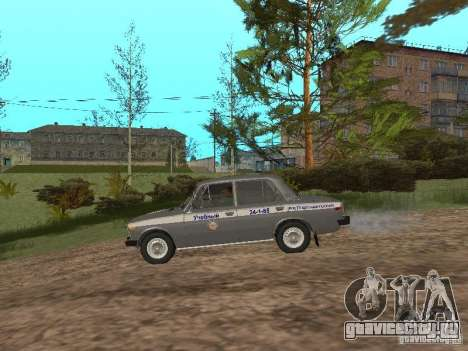 ВАЗ 21063 Учебная для GTA San Andreas вид сзади слева