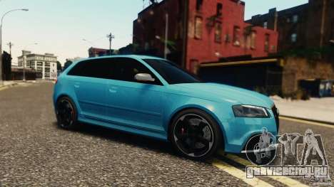 Audi RS3 Sportback V1.0 для GTA 4