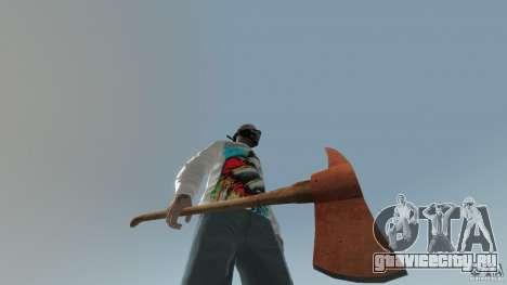 Accetta da pompiere для GTA 4