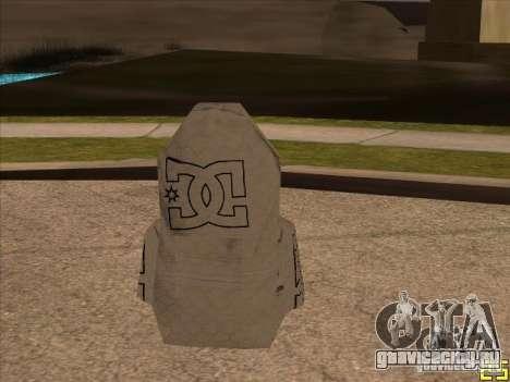 Парашют DC для GTA San Andreas второй скриншот