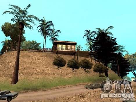 Ретекстурированный дом CJея V1 для GTA San Andreas третий скриншот