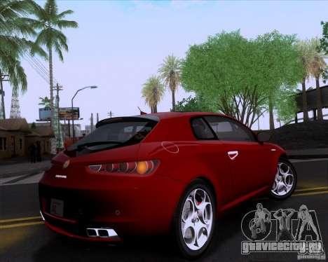 Alfa Romeo Brera для GTA San Andreas вид сзади слева