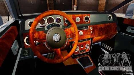 Rolls-Royce Ghost 2012 для GTA 4 вид сзади