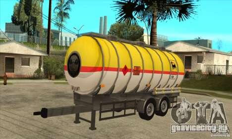 Trailer Tunk для GTA San Andreas