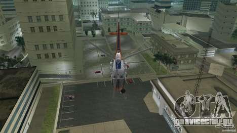 Eurocopter As-350 TV Neptun для GTA Vice City вид сбоку