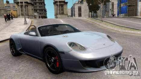RUF RK Spyder 2006 [EPM] для GTA 4 вид справа