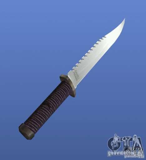 Rambo Knife без подписи для GTA 4 второй скриншот