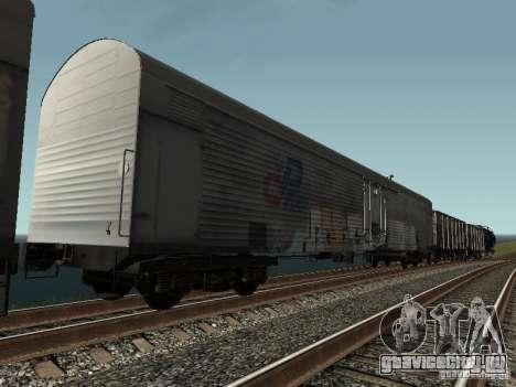 Рефрежираторный вагон Дессау №8 Разрисованный для GTA San Andreas