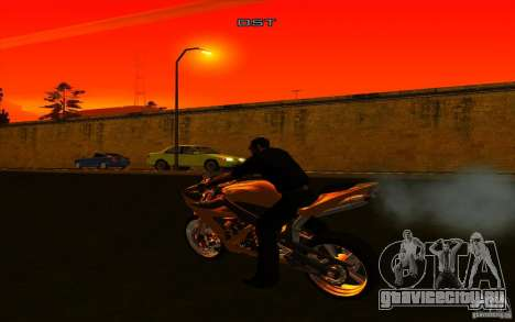 Yamaha YZF R1 Tuning Version для GTA San Andreas вид справа