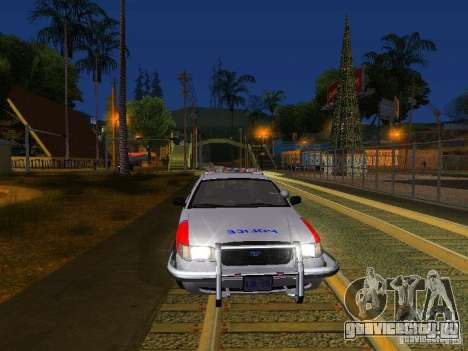 Ford Crown Victoria Police Patrol для GTA San Andreas салон