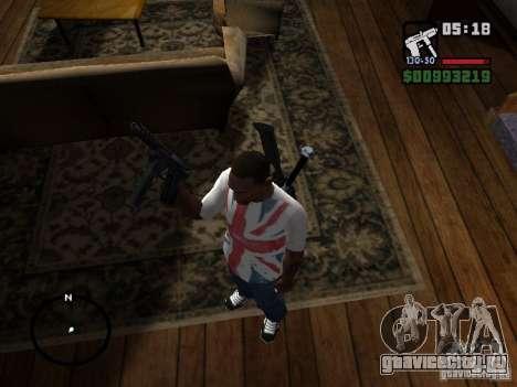 Tec9 HD для GTA San Andreas второй скриншот