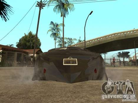 Thunderbold SlapJack для GTA San Andreas вид справа