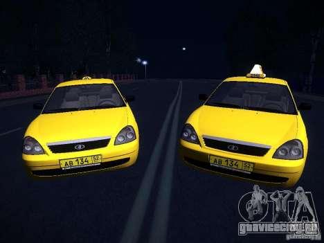 ВАЗ 2170 Приора Такси ТМК Форсаж для GTA San Andreas вид справа