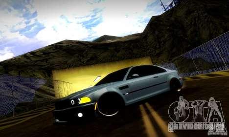 BMW M3 JDM Tuning для GTA San Andreas двигатель