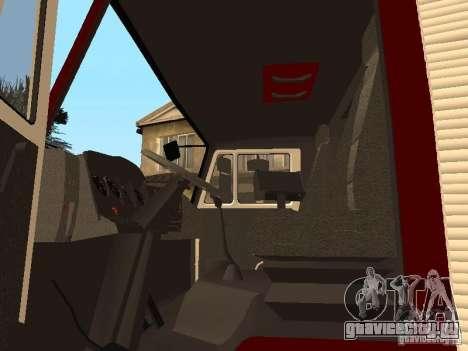 КамАЗ 43253 Розенбауер для GTA San Andreas вид сзади