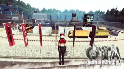 NFS:Shift Drift Tracks для GTA San Andreas третий скриншот