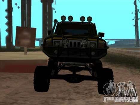 Hummer H3 Trial для GTA San Andreas вид справа