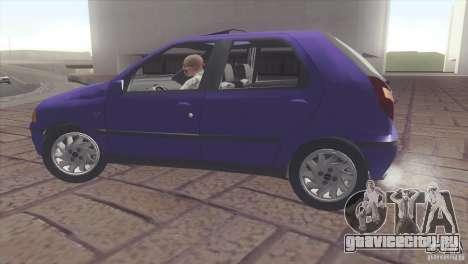Fiat Palio 16v для GTA San Andreas вид справа