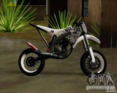 Honda 50 Tuned Stunt для GTA San Andreas вид справа