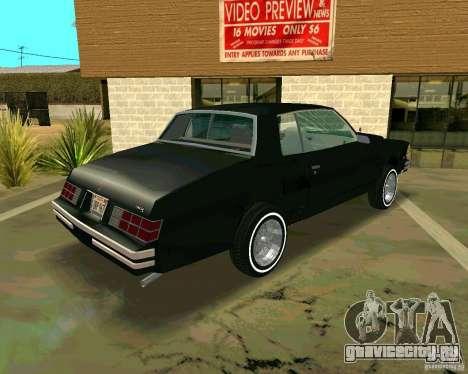 Chevrolet Monte Carlo 1979 для GTA San Andreas вид справа