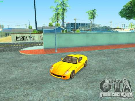 Ferrari 599 GTB для GTA San Andreas двигатель