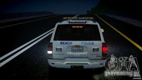 Chevrolet Trailblazer Police V1.5PD [ELS] для GTA 4 колёса