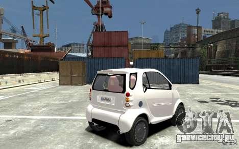 Smart For Two для GTA 4 вид справа