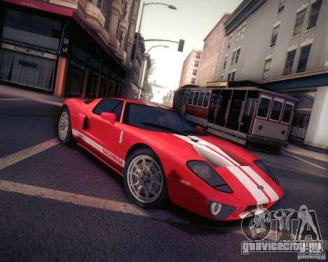 Ford GT для GTA San Andreas вид слева