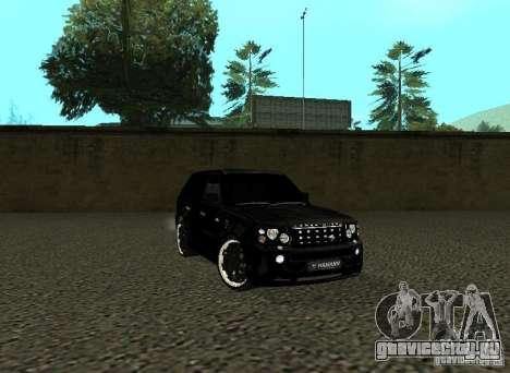 Land Rover Range Rover Sport Hamann для GTA San Andreas вид слева