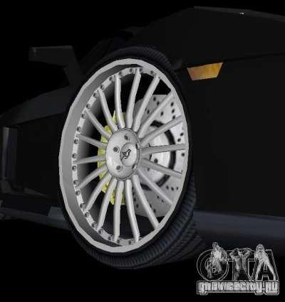 Lamborghini Gallardo Hamann Tuning для GTA Vice City вид сзади