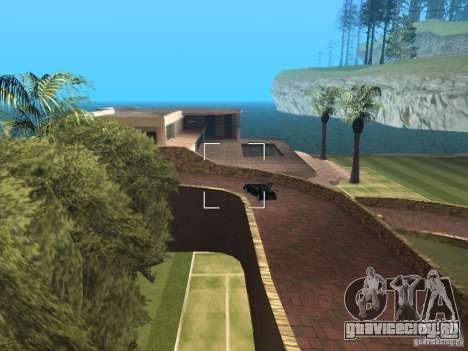 Остров с  особняком для GTA San Andreas третий скриншот