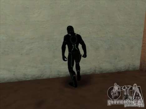 Персонаж из игры Tron: Evolution для GTA San Andreas второй скриншот