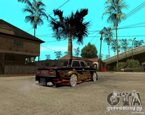 ВАЗ 2106 GTX tune для GTA San Andreas вид справа