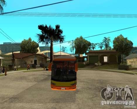 Городской Экспресс Malaysian Bus для GTA San Andreas вид сзади