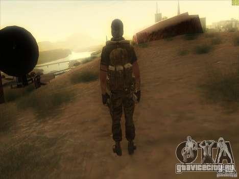 Frank Woods для GTA San Andreas пятый скриншот