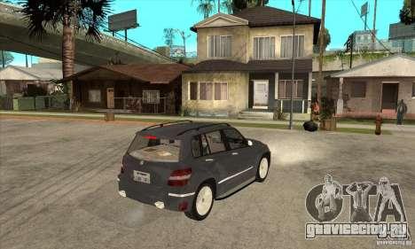 Mercedes Benz GLK300 для GTA San Andreas вид справа