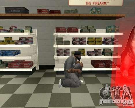 New Ammunation для GTA San Andreas третий скриншот