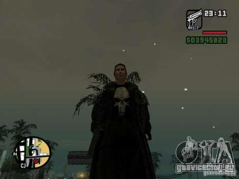 Каратель для GTA San Andreas второй скриншот