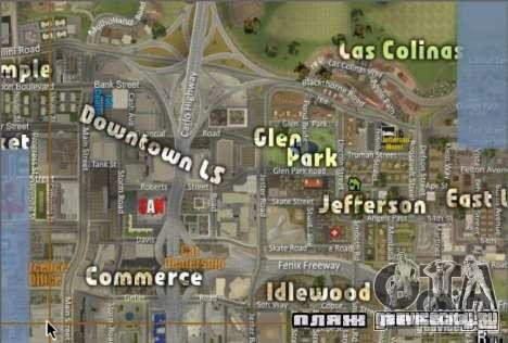 Новая карта и радар для GTA San Andreas
