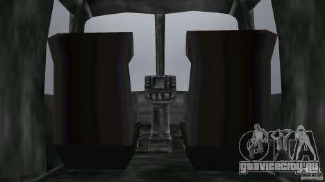 FBI Maverick для GTA Vice City вид сзади