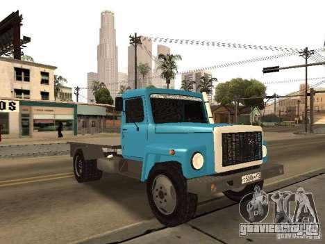 ГАЗ 3309 для GTA San Andreas вид сбоку