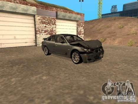 BMW M5 E60 2009 v2 для GTA San Andreas колёса