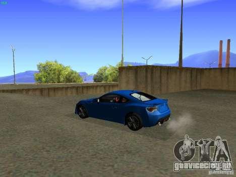 Toyota GT86 Limited для GTA San Andreas вид слева