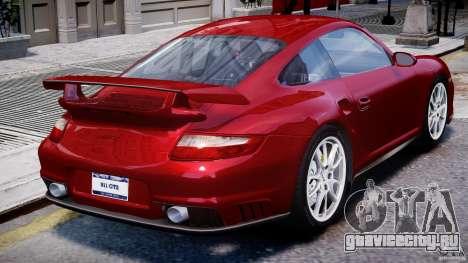 Posrche 911 GT2 для GTA 4 вид сверху