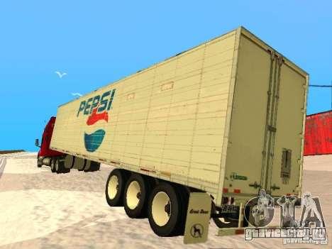 Trailer Artict3 для GTA San Andreas вид справа