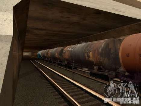 Товарные вагоны 2 для GTA San Andreas вид сбоку