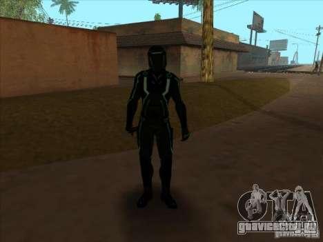 Персонаж из игры Tron: Evolution для GTA San Andreas пятый скриншот