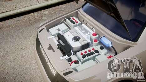 Mitsubishi Pajero Wagon для GTA 4 вид изнутри