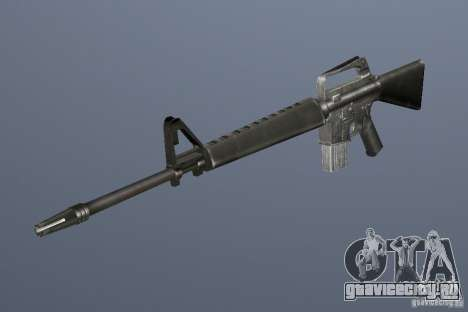 M16A1 для GTA Vice City третий скриншот